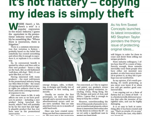 It's not flattery – copying my ideas is simply theft